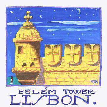 Belém tower by terezadelpilar