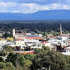 Stawell from Lookout by Yolanda Caporn