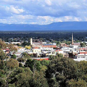 Stawell from Lookout by ycaporn