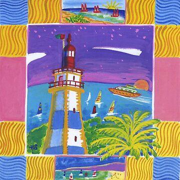 Cascais lighthouse by terezadelpilar