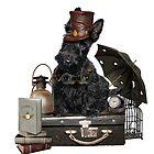 Scotty Steampunk  by Rubyblossom