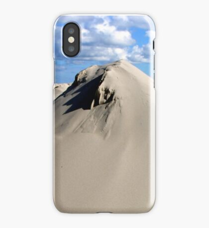 Pyramids of sand iPhone Case/Skin