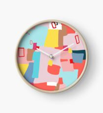 Windows of Possibility #abstractart #painting Clock