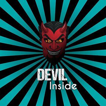 Devil Inside Mask  by CarlosV