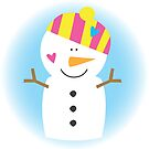 Sweet Snowman by fromthepond