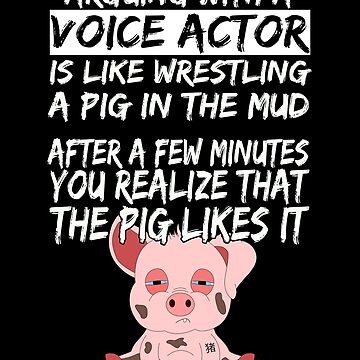 Voice Actor Actress Pig Piglet by Basti09