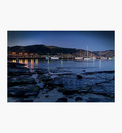 Twilight, Apollo Bay Harbour,Great Ocean Rd Photographic Print