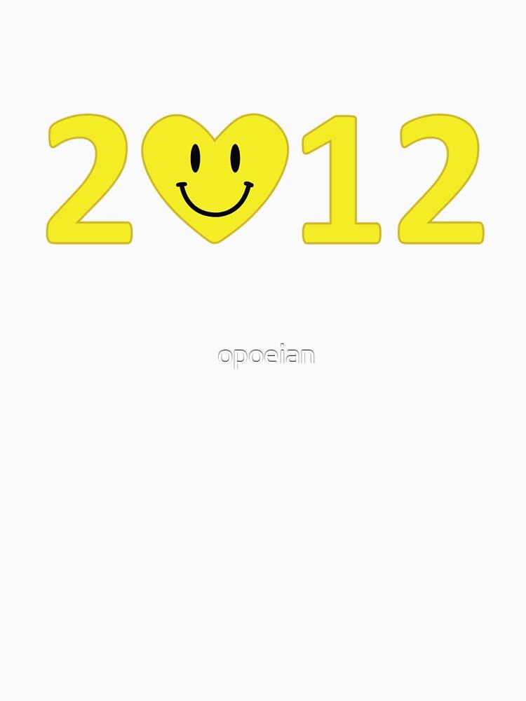 2012 Heart - Kawaii by opoeian