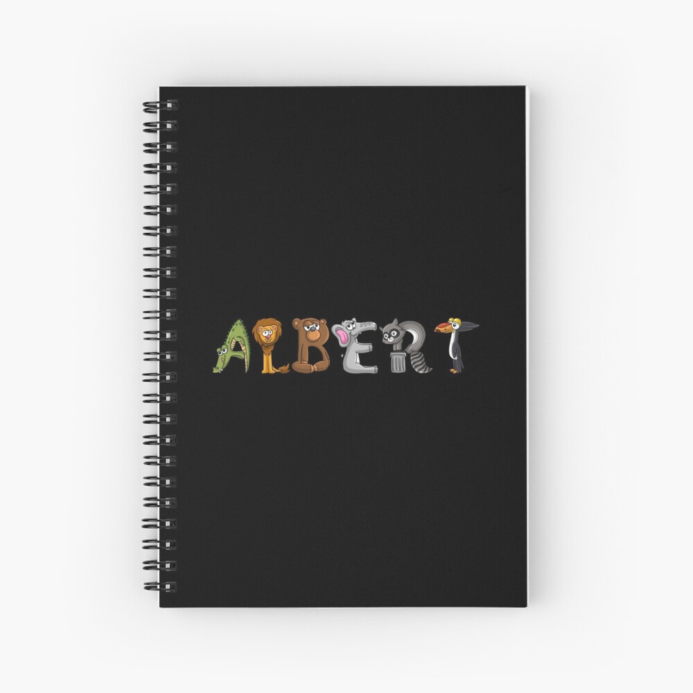 Albert Animal Sticker Cuaderno de espiral