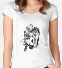 Sniper Wolf Women's Fitted Scoop T-Shirt
