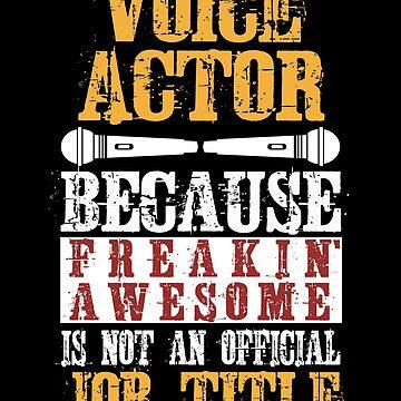 Voice actor synchronizer speaker by Basti09
