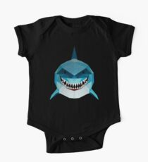 Shark And Fast Short Sleeve Baby One-Piece