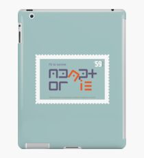 Fit to Survive iPad Case/Skin