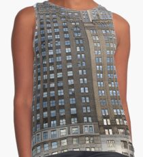 #famous #place, #international #landmark, #Apple Store, New York City, USA, american culture, architecture, city, skyscraper, office, modern, sky, business, cityscape, tower Contrast Tank