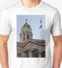 #famous #place, #international #landmark, Bunker Hill Monument, Dock Square, USA, #american culture, statue, dome, spire, architecture Unisex T-Shirt