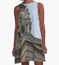 #famous #place, #international #landmark, Bunker Hill Monument, Dock Square, USA, #american culture, statue, dome, spire, architecture A-Line Dress