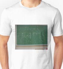 #Classroom, #Physics, #Mathematics, #education, writing, #handwriting, formula, algebra, learning, studying, university Unisex T-Shirt