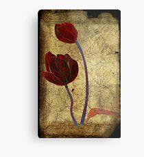 2 tulips Metal Print