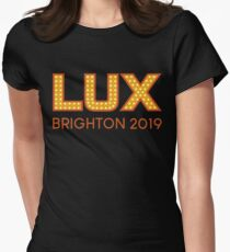 LUX Brighton 2019 Women's Fitted T-Shirt