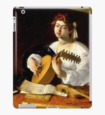 Michelangelo da Caravaggio - The Lute Player iPad Case/Skin