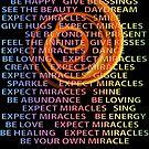 Expect Miracles FIRE VORTEX love blessings hugs kisses healing abundance by BodyIllumin