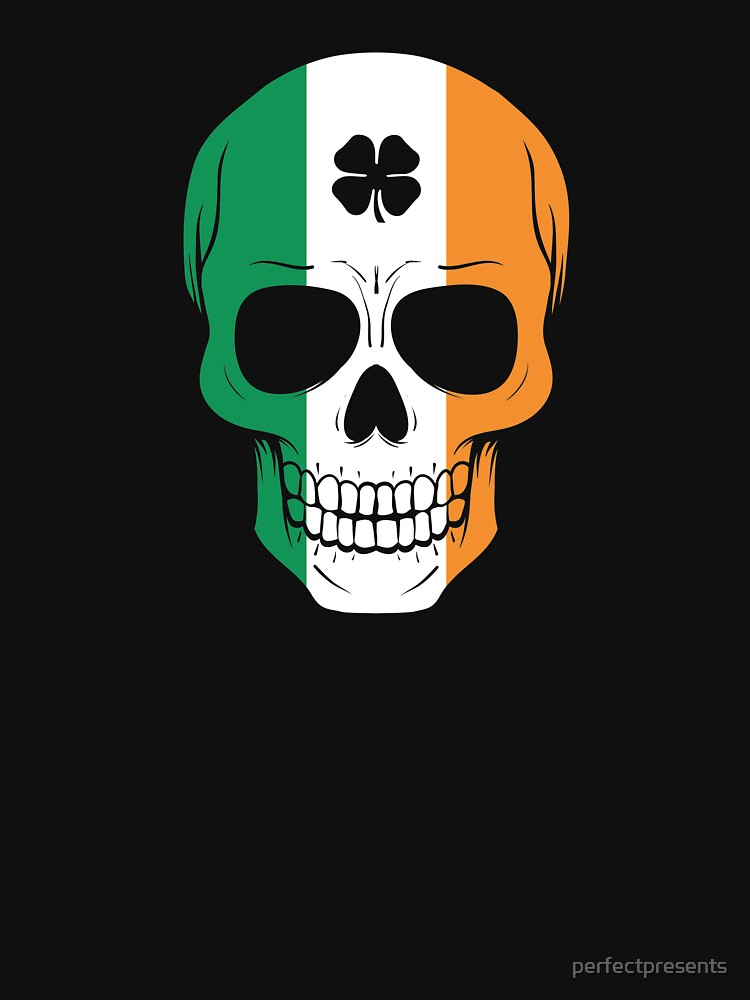 Awesome Irish Skull St. Patricks St Patty's Day by perfectpresents
