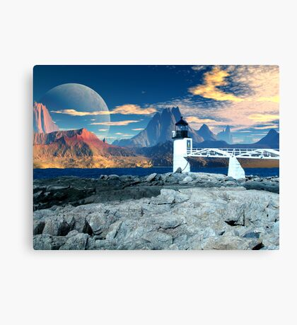 Worlds End  Canvas Print