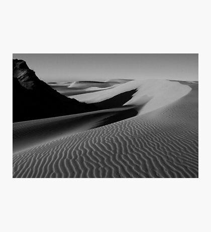 s h a d o w e d [ z e n ] Photographic Print