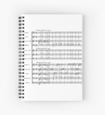 Beethoven's Fifth Symphony Spiral Notebook