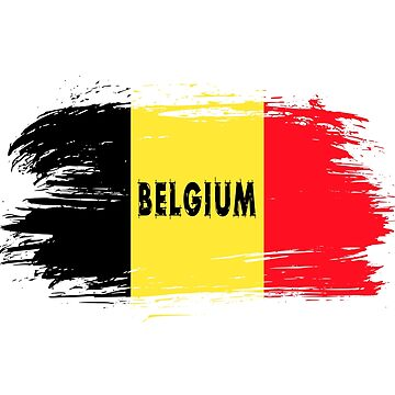 Belgium flag / national flag gift by Rocky2018