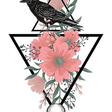 Geometric Raven by JeferCelmer