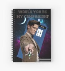 Would you be my companion? Spiral Notebook