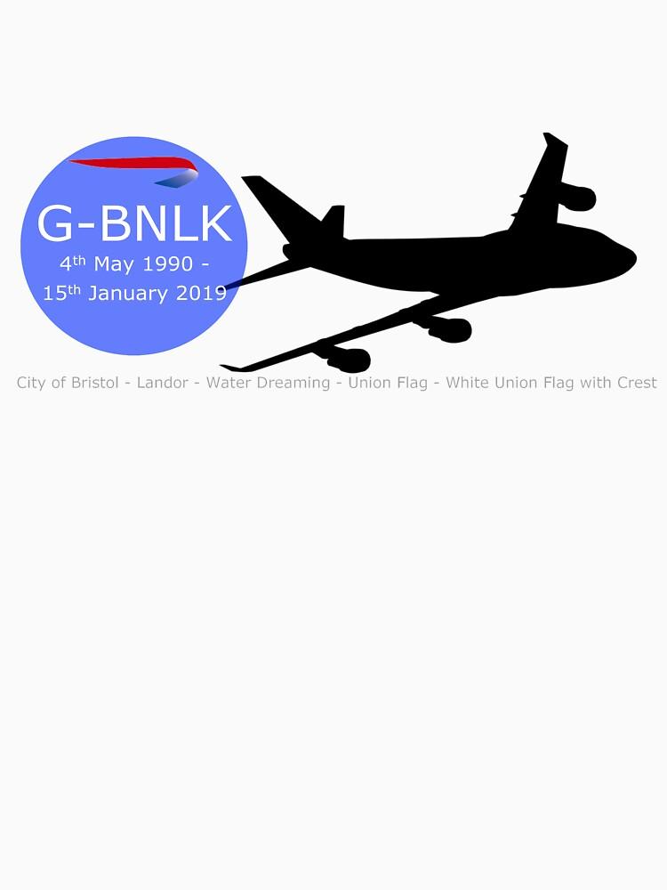 British Airways Boeing 747-400 G-BNLK by Auchmithie49