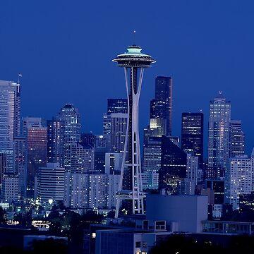 Seattle Washington by EdmondHoggeJr
