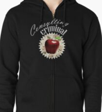 Consulting Criminal Zipped Hoodie