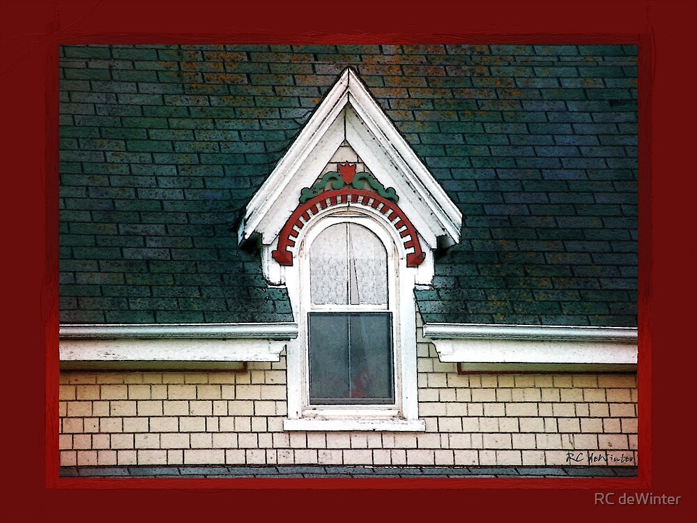The Ornamented Gable by RC deWinter