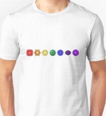 Seven horizontal chakras T-Shirt