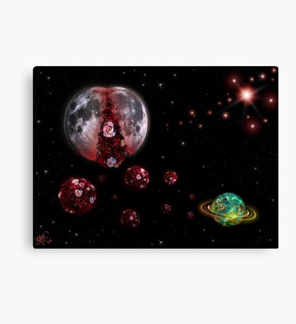 MoonInLabour Canvas Print