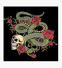 Tattoo - the sin Photographic Print