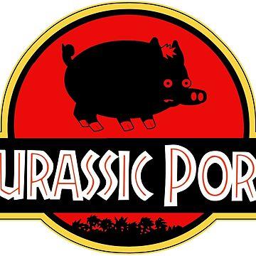 Jurassic Pork by pitipoy