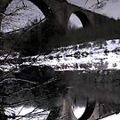 Bridge Reflection. by Laura McDonald