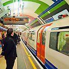 Going Underground: London Piccadily Circus Tube Station by DonDavisUK