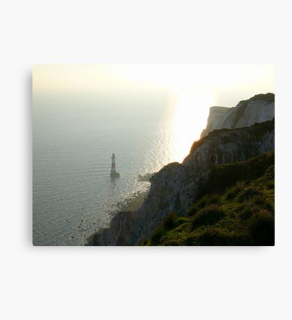Late afternoon at Beachy Head Canvas Print