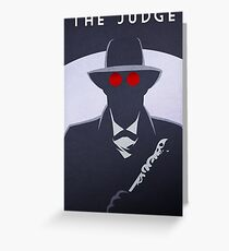 The Judge Greeting Card