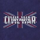 Tory Party Civil War by BethsdaleArt