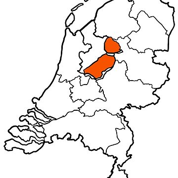 FLEVOLAND - provincie van Nederland (province of The Netherlands) by From-Now-On