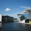 river spree german parlaiment by 118b