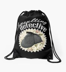 Consulting Detective Drawstring Bag
