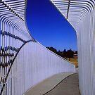 A Perth Bridge, Western australia. by Eve Parry