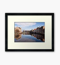 The Water Of Leith Framed Print